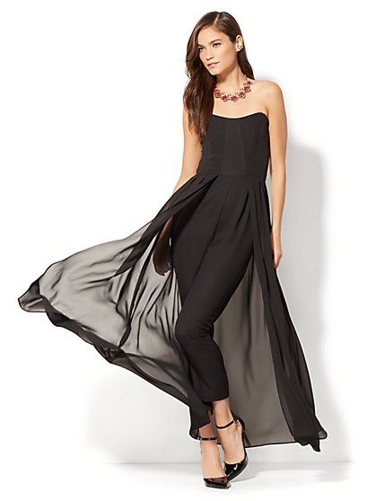Strapless Jumpsuit - New York & Company