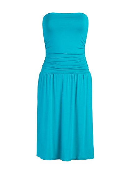 Strapless Swing Dress - NY&C Style System - New York & Company