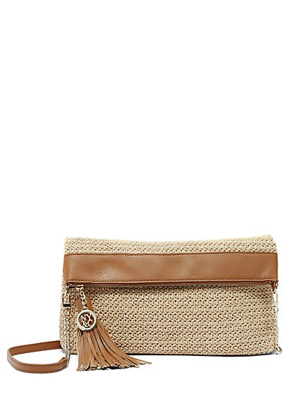 Straw Clutch  - New York & Company