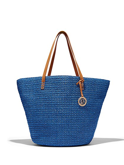 Straw Tote  - New York & Company
