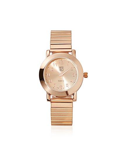 Stretch Bracelet Watch  - New York & Company