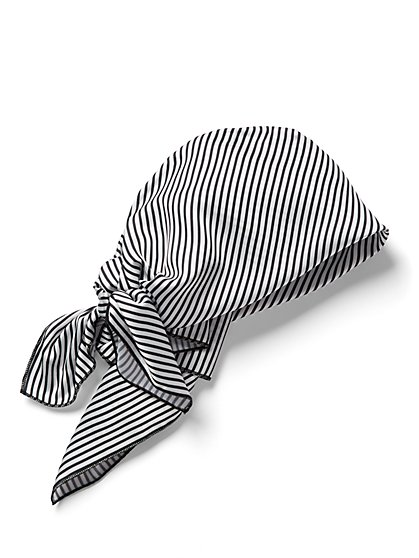 Stripe Head Wrap - New York & Company