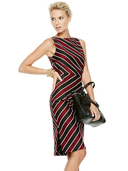 Stripe Sheath - New York & Company