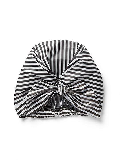Stripe Shower Cap - New York & Company