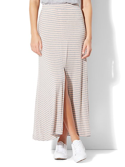 Striped Maxi Skirt - New York & Company