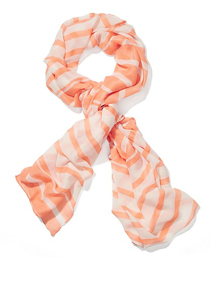 Striped Scarf  - New York & Company