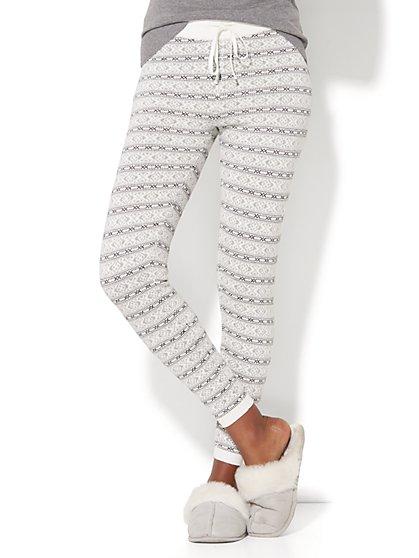 Striped Sweater Legging - New York & Company