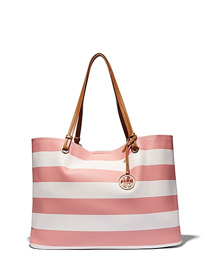 Striped Tote  - New York & Company