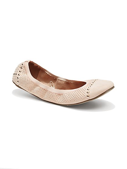 Studded Ballet Flat  - New York & Company
