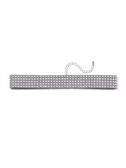 Studded Choker Necklace  - New York & Company