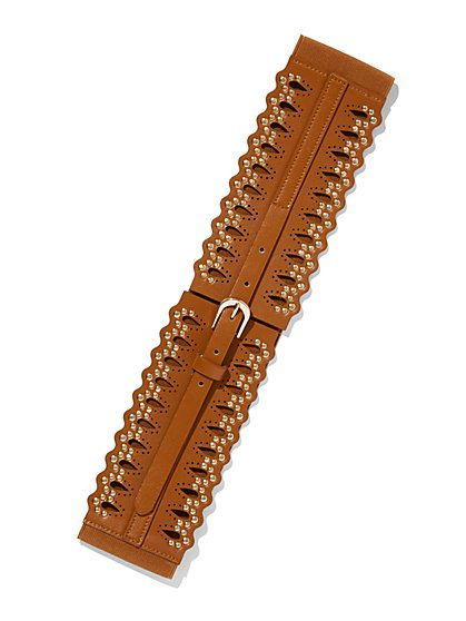 Studded Corset Belt  - New York & Company