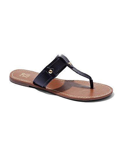 Studded Thong Sandal  - New York & Company