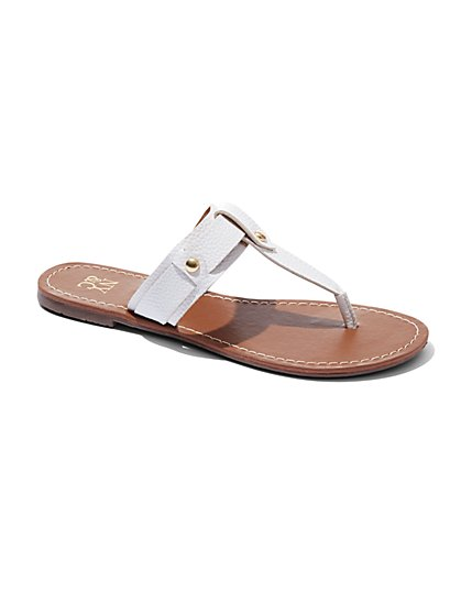 Studded Thong Sandal  - New York & Company