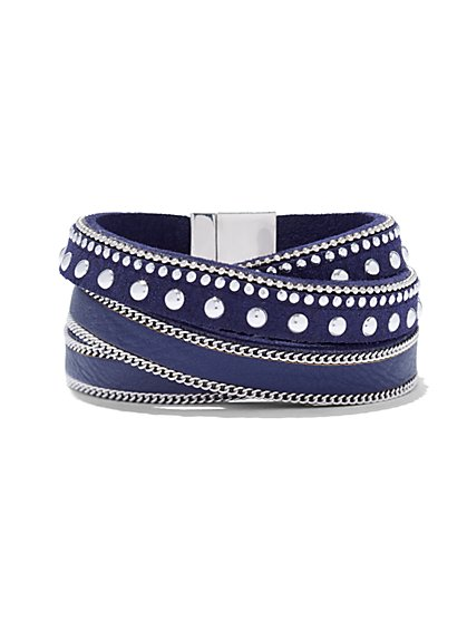 Studded Wrap Bracelet  - New York & Company