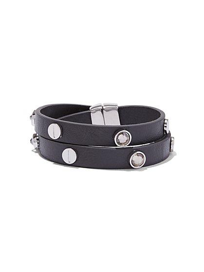 Studded Wrap Bracelet  - New York & Company