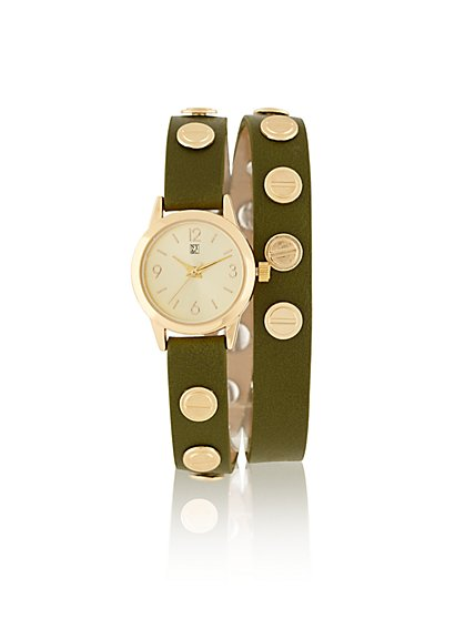Studded Wrap Watch  - New York & Company