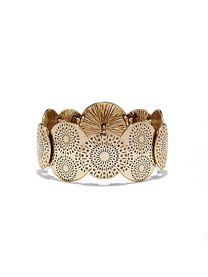 Sunburst Stretch Bracelet   - New York & Company