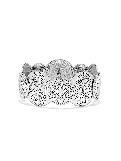Sunburst Stretch Bracelet   - New York & Company