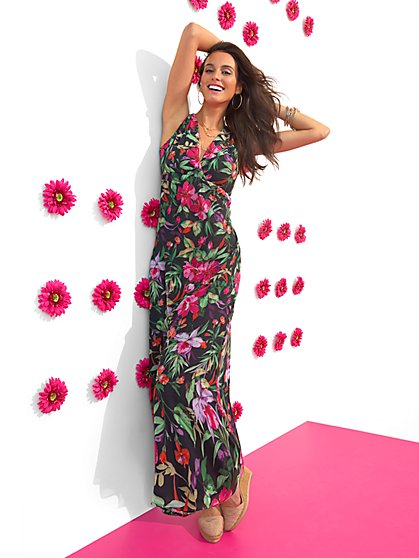 Sweet Pea - Flower Garden Maxi Dress - New York & Company