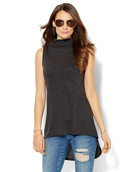 Sweet Pea - Hi-Lo Cowl-Neck Top - New York & Company