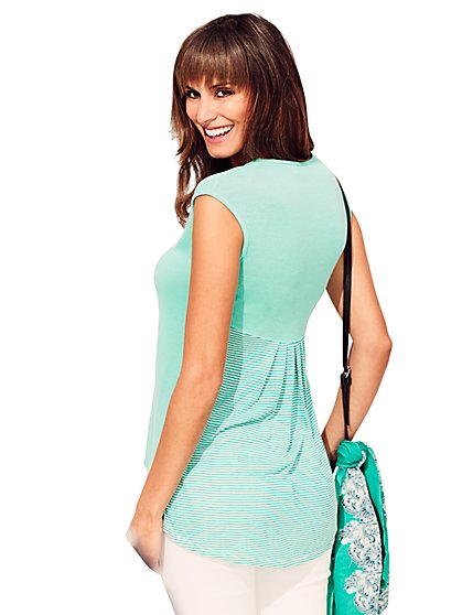 Sweet Pea - Kendall Hi-Lo Top - New York & Company