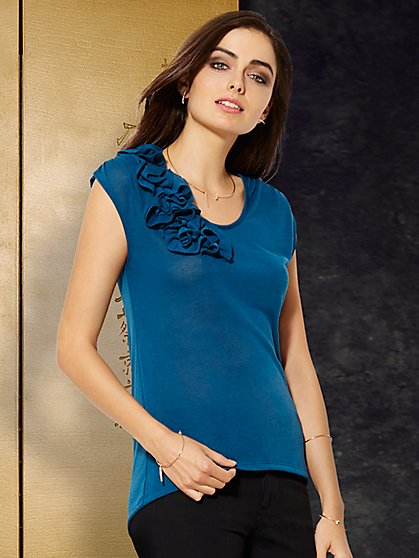 Sweet Pea - Kourtney Corsage Top  - New York & Company