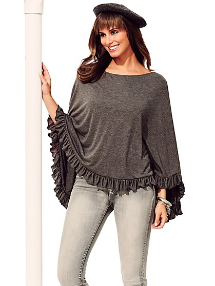 Sweet Pea - Les Costes Poncho - New York & Company