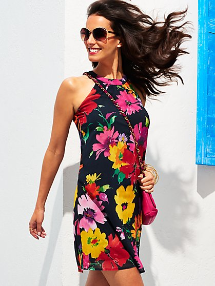 Sweet Pea - Natasha Halter Dress - New York & Company