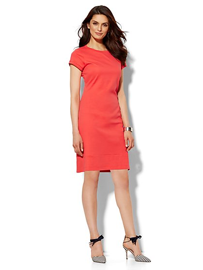 T-Shirt Dress - Petite  - New York & Company