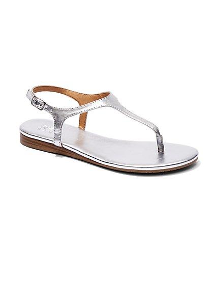 T-Strap Sandal  - New York & Company