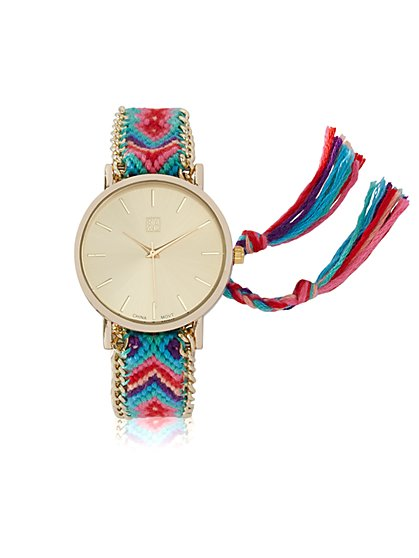 Tassel-Accent Watch  - New York & Company