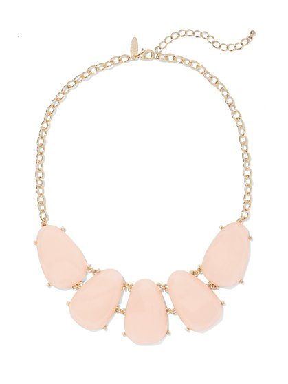Teardrop Bib Necklace  - New York & Company