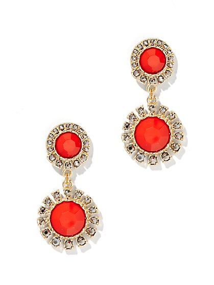 Teardrop Chandelier Earring - New York & Company