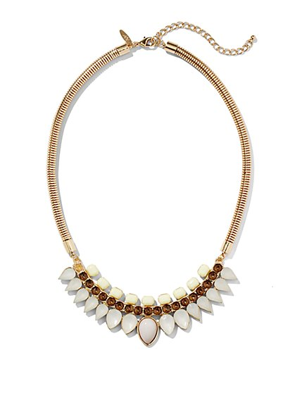 Teardrop Collar Necklace  - New York & Company