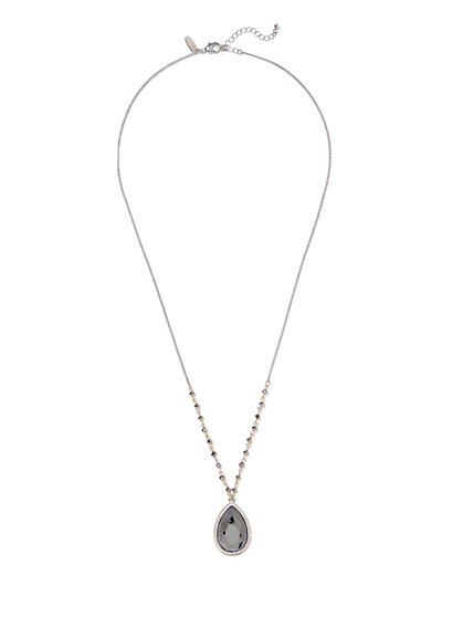 Teardrop Pendant Necklace  - New York & Company