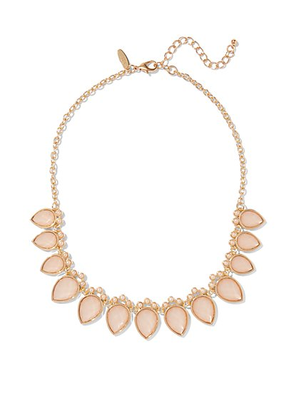 Teardrop Statement Necklace  - New York & Company