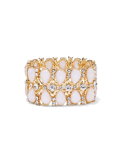 Teardrop Stretch Bracelet  - New York & Company