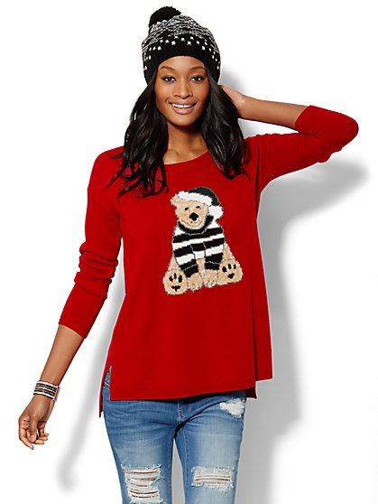 Teddy Bear Sweater  - New York & Company