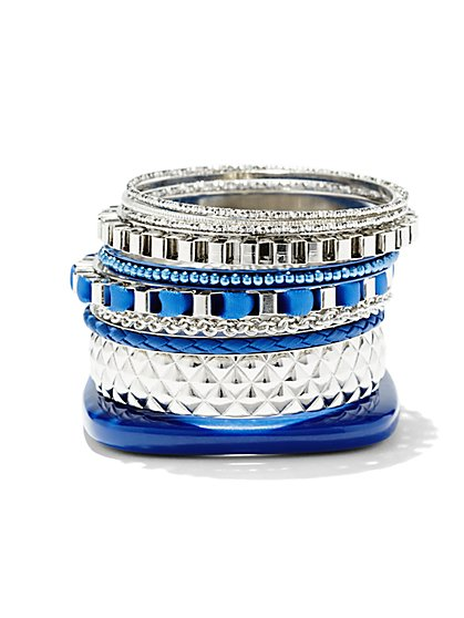 Ten-Piece Bangle Set  - New York & Company