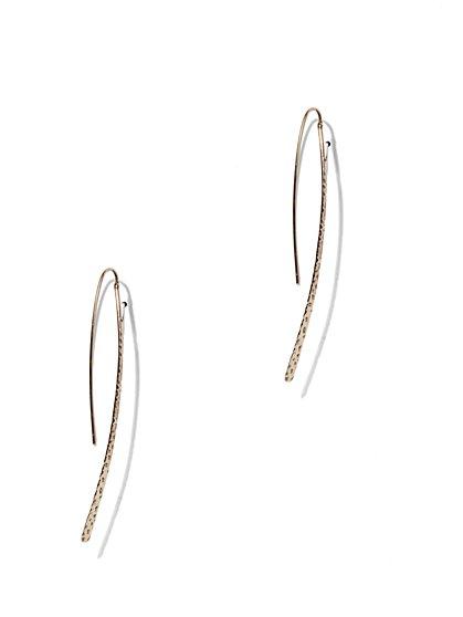 Textured Hook Earring  - New York & Company