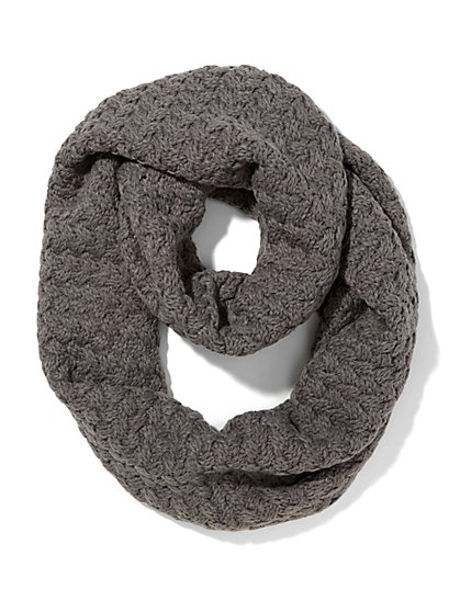 Textured Infinity Scarf - New York & Company