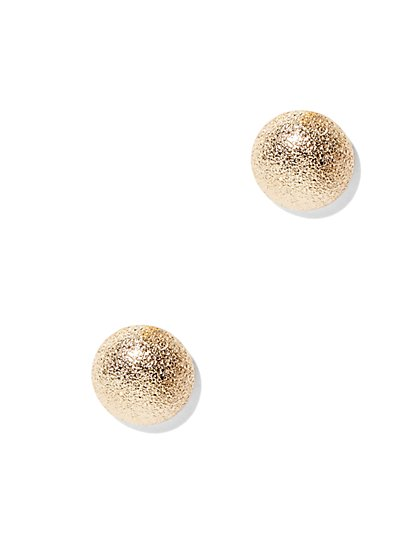 Textured Post Earring  - New York & Company