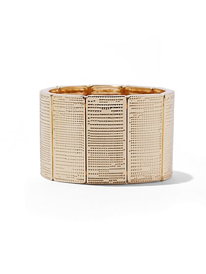 Textured Stretch Bracelet  - New York & Company