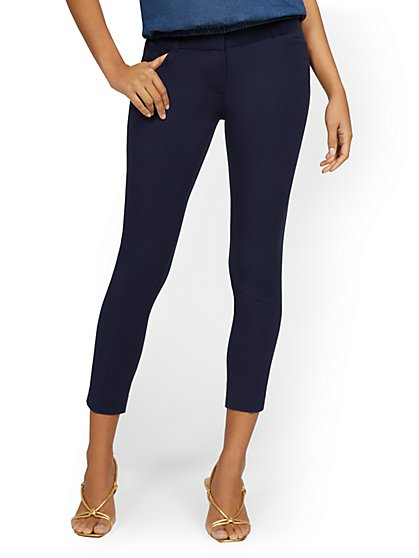 The Audrey Ankle Pant - Solid - New York & Company