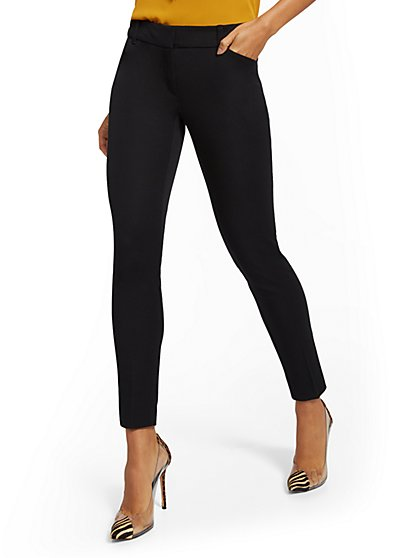 The Audrey Pant - Slim-Leg - Solid  - New York & Company
