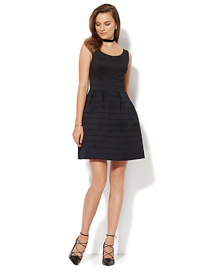 The Bandage Flare Dress - New York & Company
