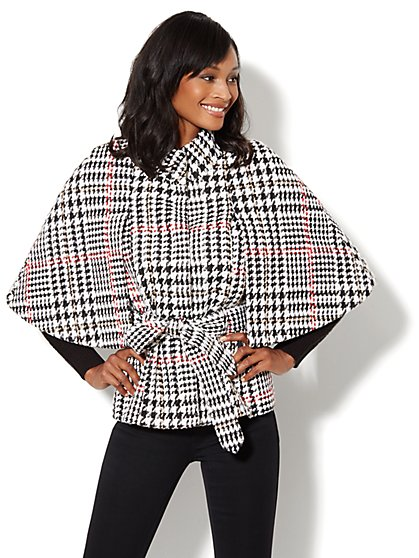 The Capelet - Houndstooth - New York & Company