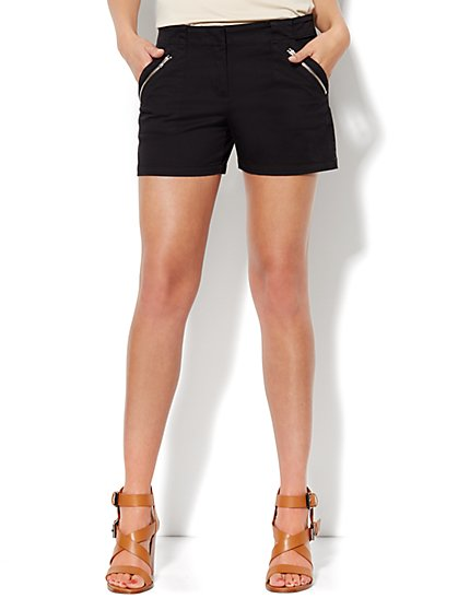The Hampton Short - Zip Pocket