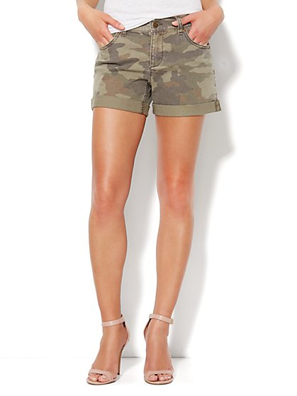 The Montauk Short - Camo Print