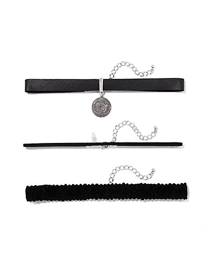 Three-Piece Choker Set  - New York & Company